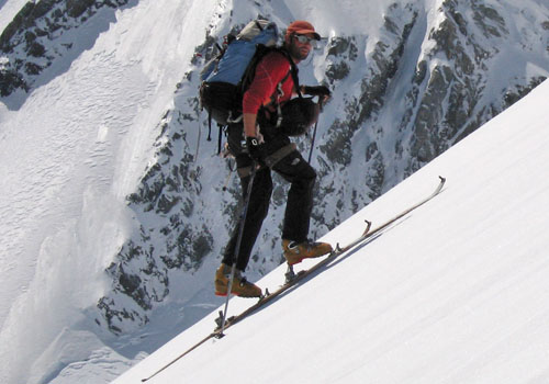 Steep Skinning – Technique
