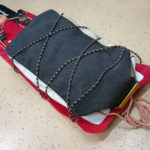 Portable Emergency Sled for Backcountry Skiing