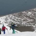 What skiing in Svalbard is all about.