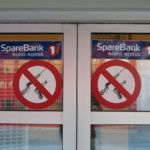 Welcome to Longyearbyen - please don't bring your guns into the bank.
