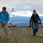 Tyler Reid and Jules Hanna hit the dirt at the Mt. Olivia col.